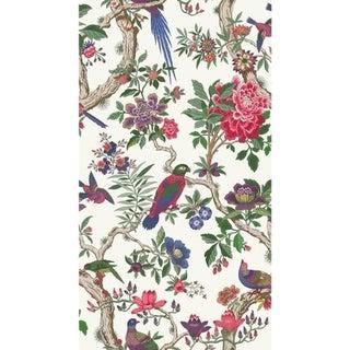 Cole & Son Fontainebleau Wallpaper Roll - Fuschia For Sale