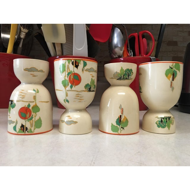 Vintage 1920s Double Egg Cups - Set of 4 For Sale In Chicago - Image 6 of 7