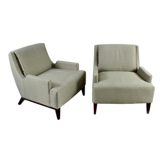 Barbara Barry Perfect Pitch Lounge Chairs for Hbf For Sale