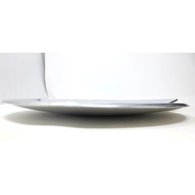 Smith Celetano Nambe 632 Spiral Tray Platter For Sale In Los Angeles - Image 6 of 11