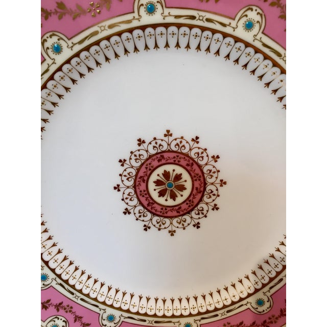 Gold Early 20th Century Antique Minton for Tiffany Plates - Set of 12 For Sale - Image 7 of 9