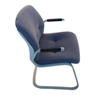 1980s Vintage Cantilever Armchair by Steelcase For Sale