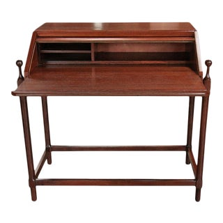 Italian Wood Desk by Fratelli Proserpio