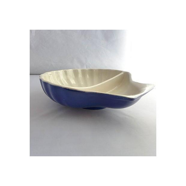 Vintage Nautical Porcelain Clamshell Serving Dish - Image 7 of 7