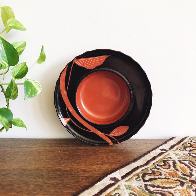 Vintage Japanese Hand Painted Ceramic Bowl For Sale In Austin - Image 6 of 6