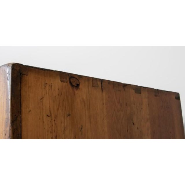 Monumental Ralph Lauren for Henredon Pine Cabinet For Sale - Image 9 of 11