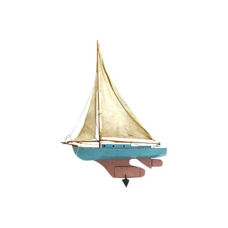 1920s Hand-Made English Pond Boat For Sale