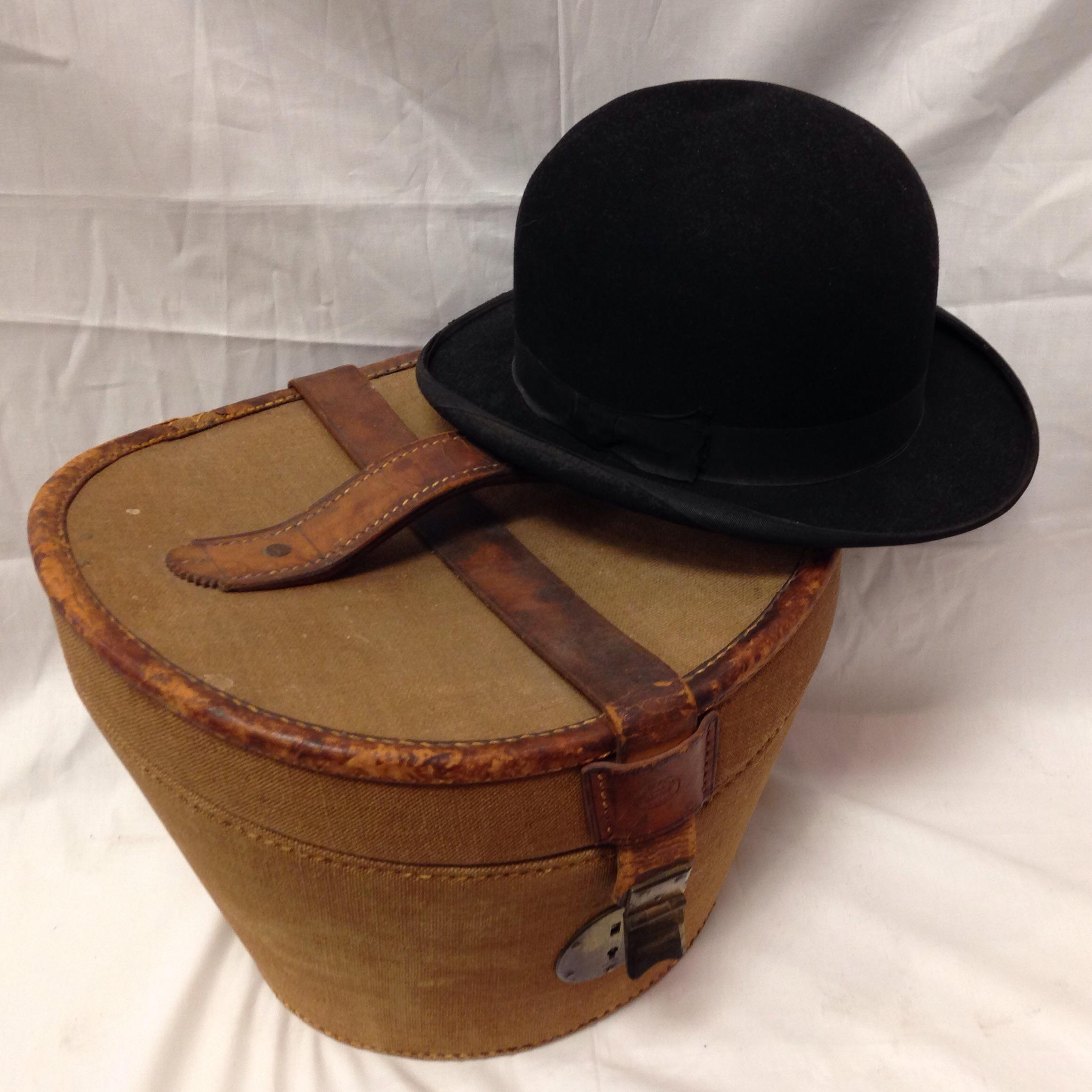 Gorgeous Antique Bowler Hat That Comes In A Stunning Storage Case. The  Bowler Hat Which