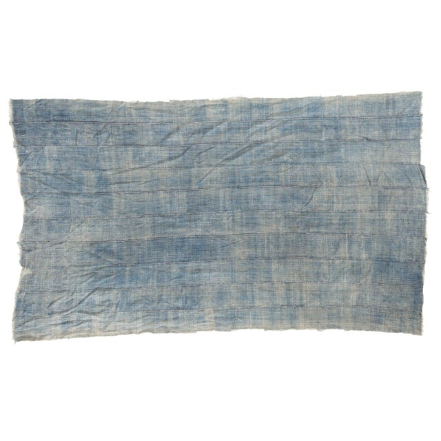 """Vintage African Textile Throw - 3'8"""" X 6'2"""" - Image 1 of 6"""