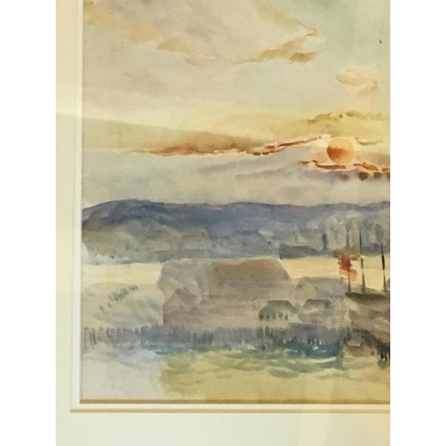 Hayley Lever Signed Watercolor Painting For Sale In New York - Image 6 of 6