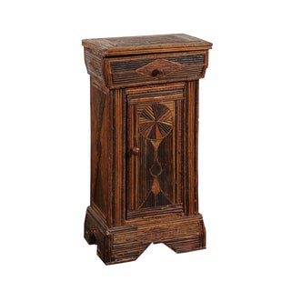 French Fold Art Cabinet For Sale