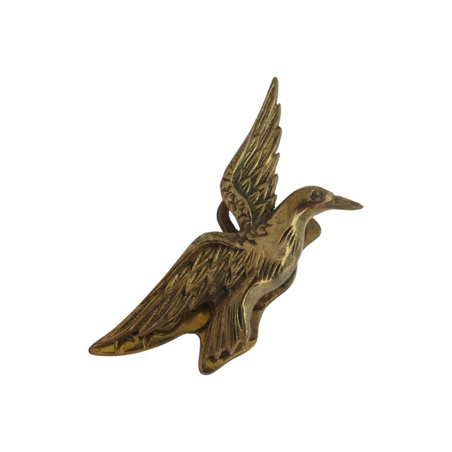 Brass Hummingbird Paper Clip - Image 1 of 5