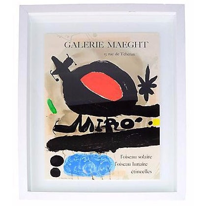 Joan Miró Lithograph Poster By Galerie Maeght - Image 1 of 9