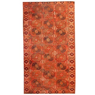 "Early 20th Century Ersari Rug - 58"" x 108"" For Sale"