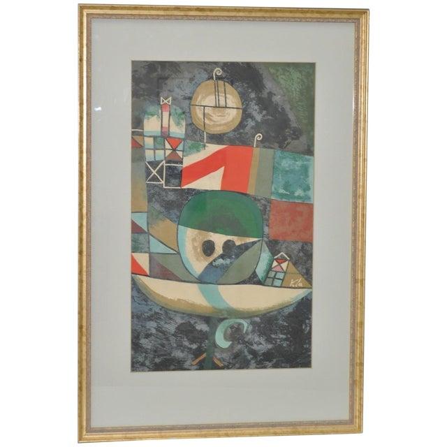 Paul Klee Vintage 1950s Silkscreen For Sale