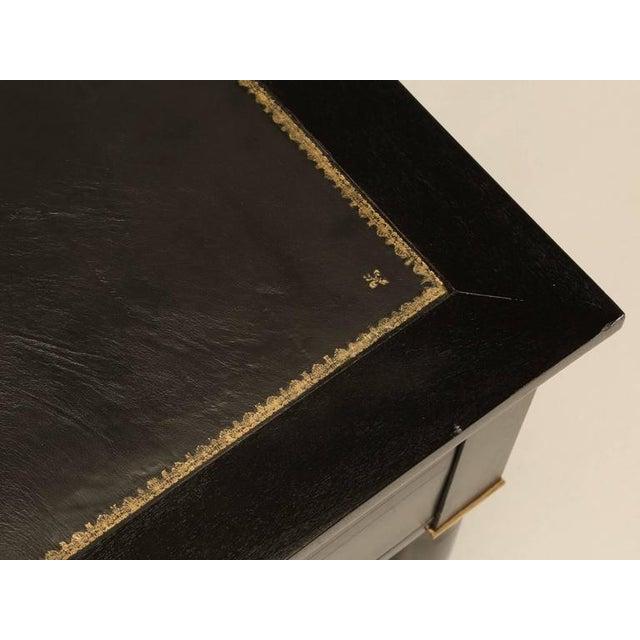 Empire French Empire Style Ebonized Desk For Sale - Image 3 of 11