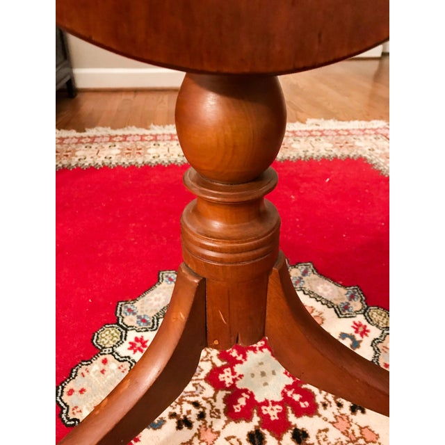 19th Century Shaker Tea Table For Sale In Washington DC - Image 6 of 11