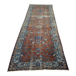 Vintage Turkish Runner - 3'2″x10'8″