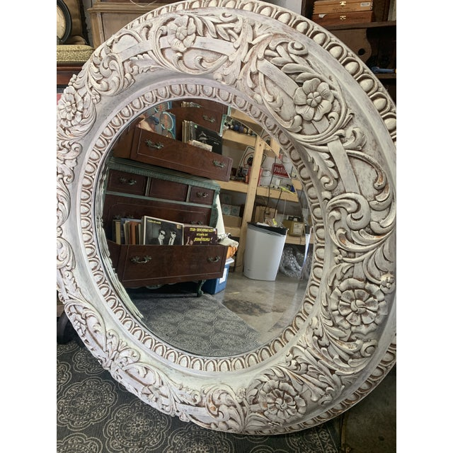 Baroque 1990s Grand Baroque Mirror For Sale - Image 3 of 13