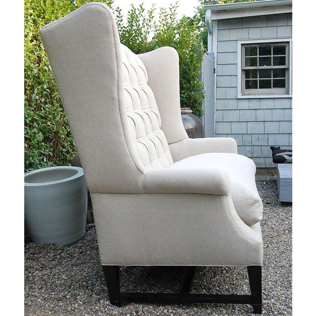 Wing Back Sofa For Sale - Image 4 of 9
