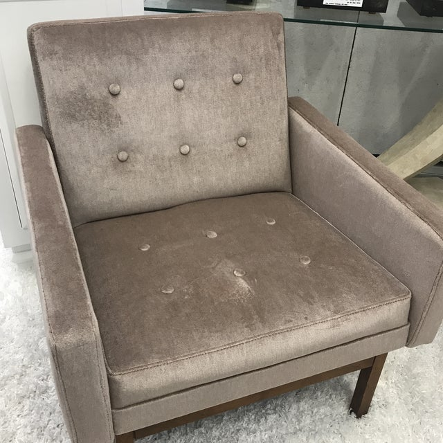 1970s Vintage Danish Club Chairs- A Pair For Sale - Image 11 of 12
