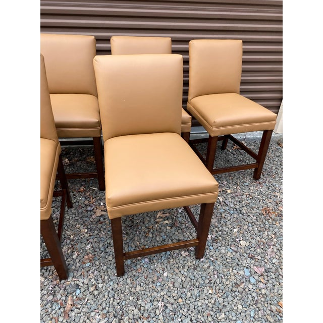 Hekman Furniture Hekman Counter Stool- Set of 6. Sold as Pairs For Sale - Image 4 of 12