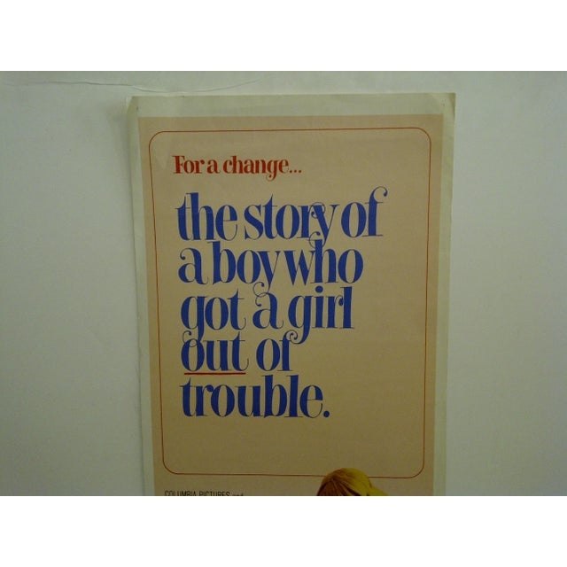 """1971 Vintage Movie Poster of """"To Find a Man"""" For Sale - Image 4 of 6"""