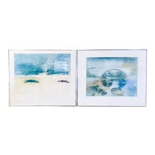 Mid-Century Landscape Prints - A Pair