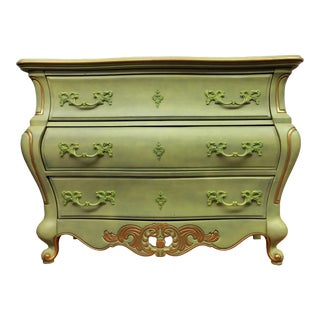 Late 20th Century Louis XV Style Commode For Sale
