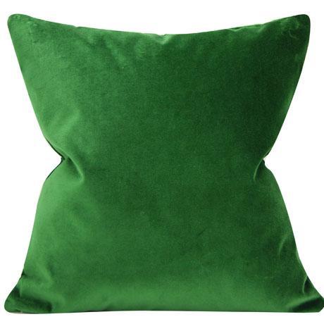 Emerald Velvet Pillow Cover 20 Inch Chairish