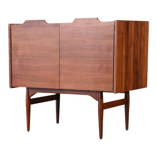 Walnut Three Drawer Dresser by John Caldwell for Brown Saltman
