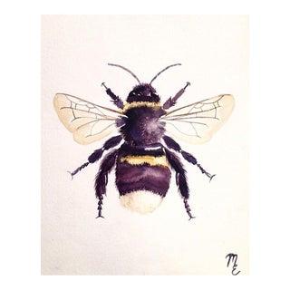 Contemporary Original Bee Painting