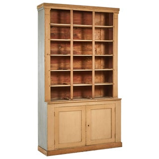 1790s French Directoire Era Painted Wood Bookcase For Sale