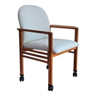 Benny Linden Teak Desk Chair For Sale