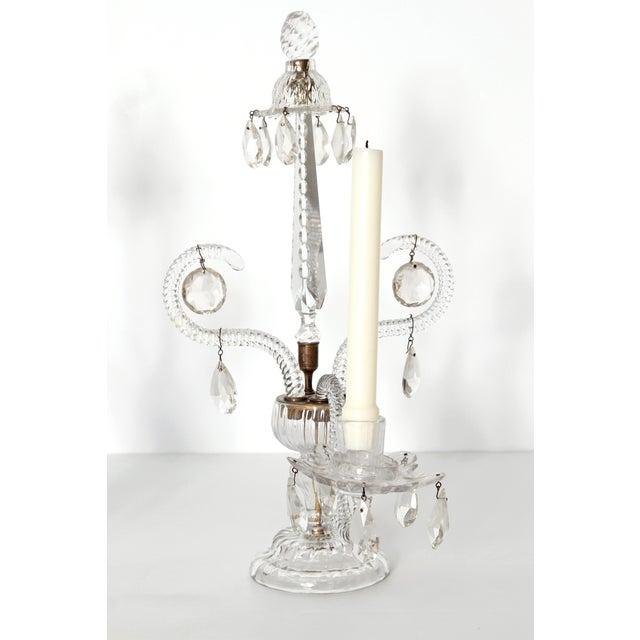 George II Cut Glass Girandoles / Lustres - Image 5 of 11
