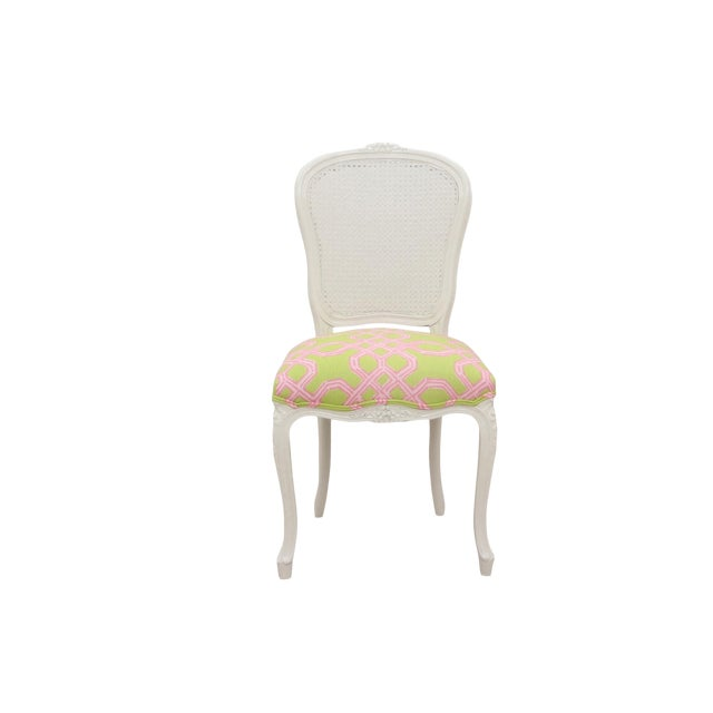 Louis XV Cane Back Accent Chair - Image 1 of 6
