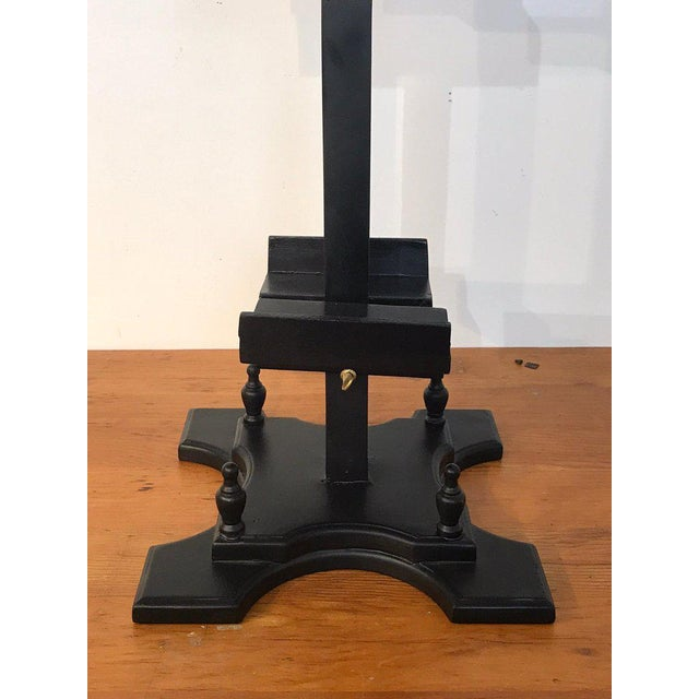 Regency Style Ebonized Dual Sided Table Easel For Sale In West Palm - Image 6 of 11