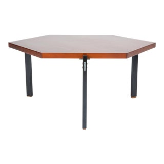 Low Hexagonal Table by André Simard For Sale