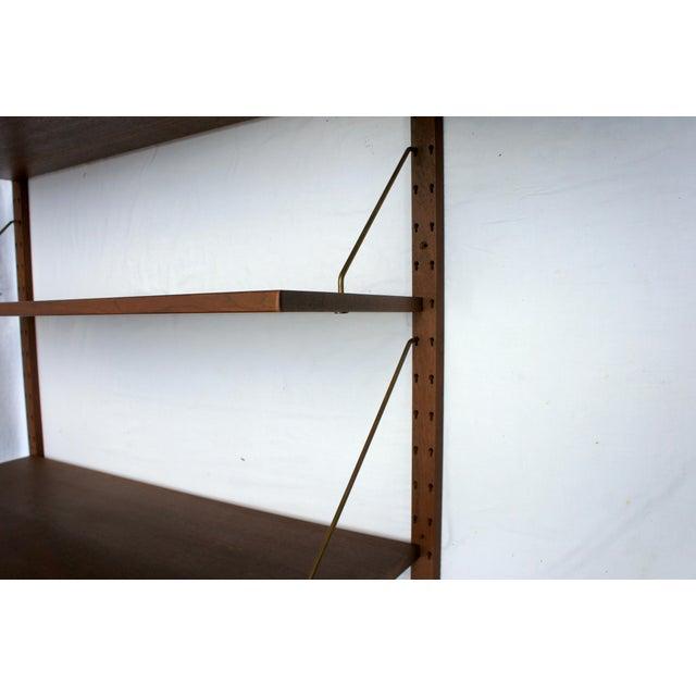 """Sven Ellekaer """"Omnibus"""" Bangkok Teak Wall Unit For Sale - Image 10 of 12"""