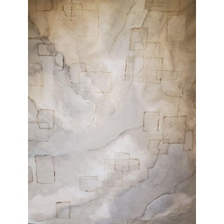 2020 Manifestation Abstract Mixed-Media Painting on Canvas For Sale