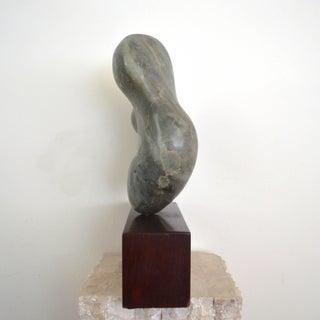 Noguchi Inspired Modernist Abstract Minimalist Stone Sculpture Preview