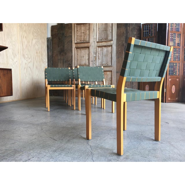 Alvar Aalto Dining Chairs - Set of 8 For Sale In Los Angeles - Image 6 of 12