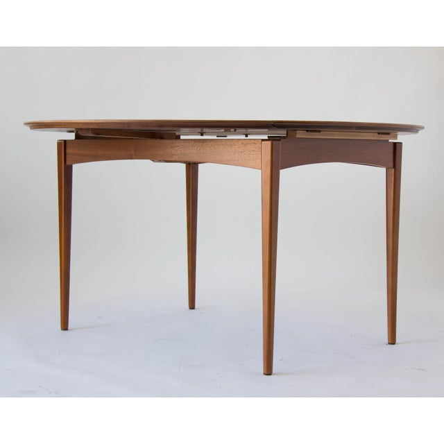 Drop-Leaf Dux Dining Table - Image 8 of 8