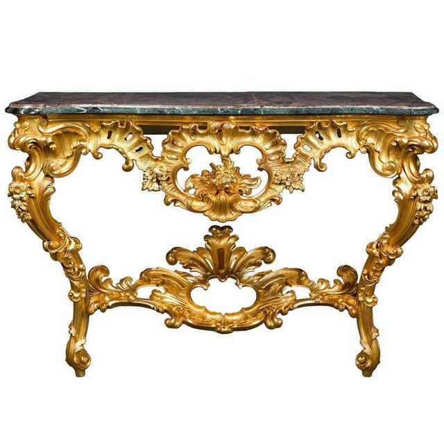 Early 18th Century Louis XV Period Console Table For Sale - Image 5 of 5