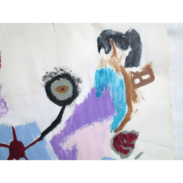 'Hands on the Prize' Abstract Painting - Image 6 of 9