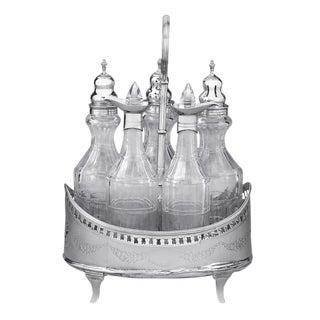 Hester Bateman Georgian Silver Cruet Set