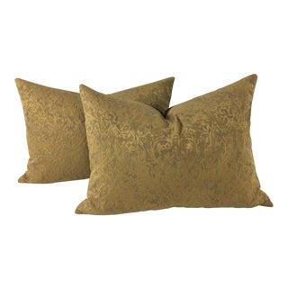 Italian Fortuny Pillows – A Pair