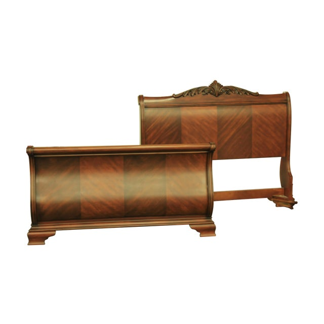 Tuscany Queen Sized Sleigh Bed Frame - Image 1 of 5