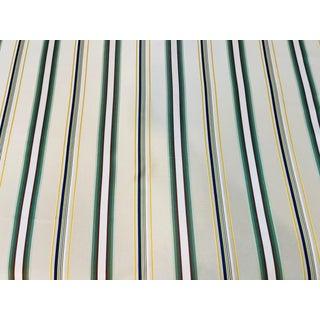 Brunschwig & Fils Satin Stripe Fabric - 4 1/2 Yards For Sale