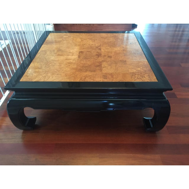 Ethan Allen Chinoiserie Coffee Table - Image 4 of 10